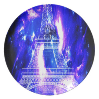 Amethyst Sapphire Paris Dreams Dinner Plate
