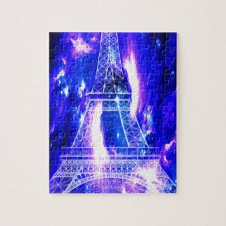 Amethyst Sapphire Paris Dreams Jigsaw Puzzle