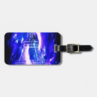 Amethyst Sapphire Paris Dreams Luggage Tag