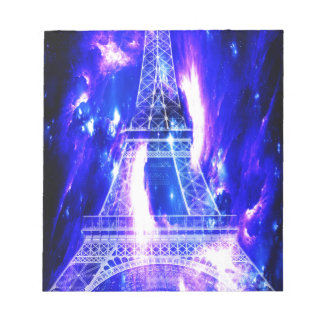 Amethyst Sapphire Paris Dreams Notepad