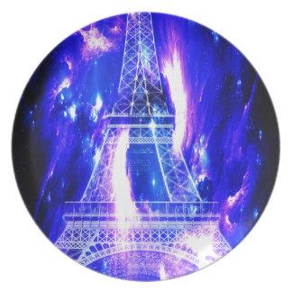 Amethyst Sapphire Paris Dreams Plate