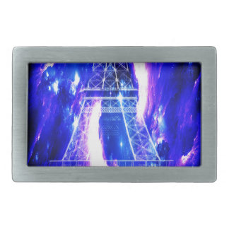Amethyst Sapphire Paris Dreams Rectangular Belt Buckle
