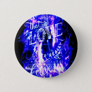 Amethyst Sapphire Paris Dreams the Ones that Love 2 Inch Round Button