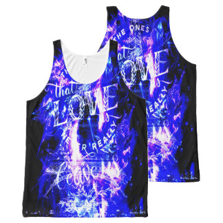 Amethyst Sapphire Paris Dreams the Ones that Love All-Over-Print Tank Top