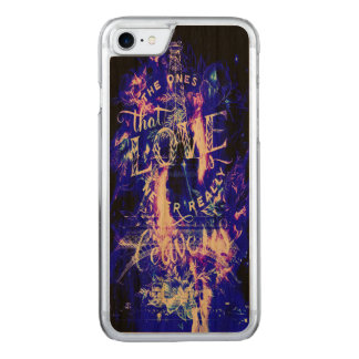 Amethyst Sapphire Paris Dreams the Ones that Love Carved iPhone 8/7 Case