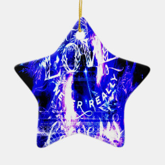 Amethyst Sapphire Paris Dreams the Ones that Love Ceramic Ornament