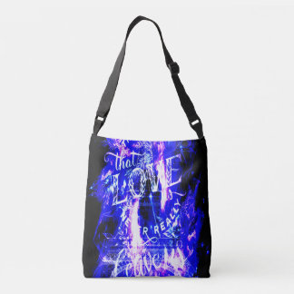 Amethyst Sapphire Paris Dreams the Ones that Love Crossbody Bag