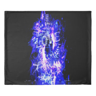 Amethyst Sapphire Paris Dreams the Ones that Love Duvet Cover