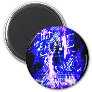 Amethyst Sapphire Paris Dreams the Ones that Love Magnet