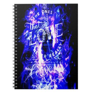 Amethyst Sapphire Paris Dreams the Ones that Love Notebook