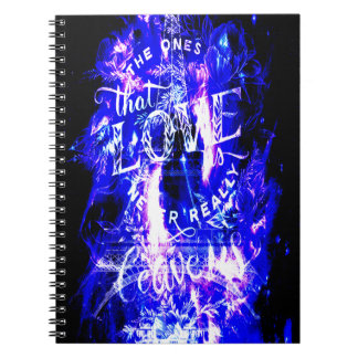 Amethyst Sapphire Paris Dreams the Ones that Love Spiral Notebook
