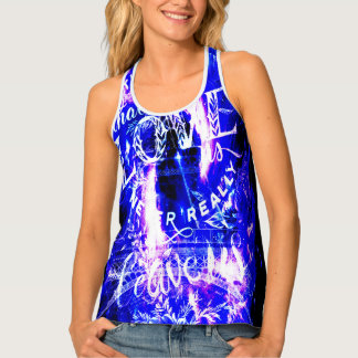 Amethyst Sapphire Paris Dreams the Ones that Love Tank Top
