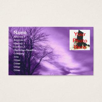 Amethyst Skies Business Cards