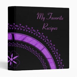 Amethyst Star Arc Recipe Book Binder