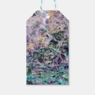 amethyst stone texture gift tags