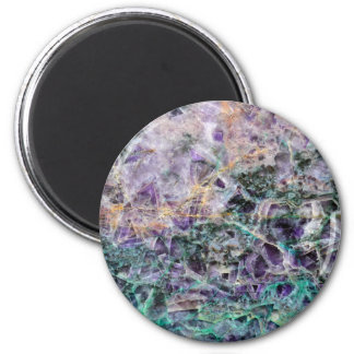 amethyst stone texture magnet