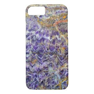 amethyst stone texture pattern rock gem mineral iPhone 7 case