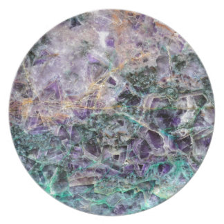 amethyst stone texture plate