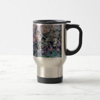 amethyst stone texture travel mug