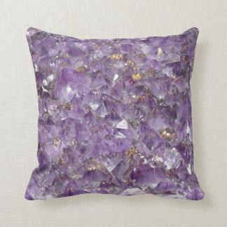 Amethyst Stones Pillow