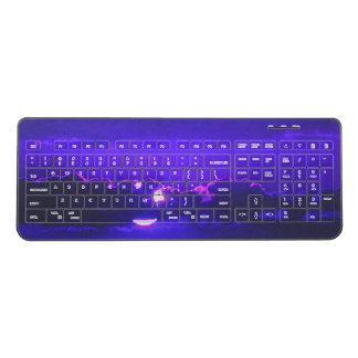 Amethyst Twilight Wireless Keyboard