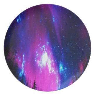 Amethyst Winter Sky Plates
