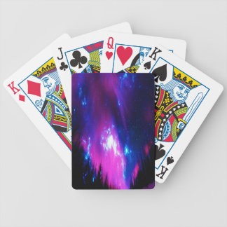 Amethyst Winter Sky Poker Deck