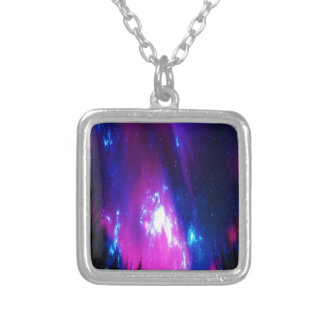 Amethyst Winter Sky Silver Plated Necklace