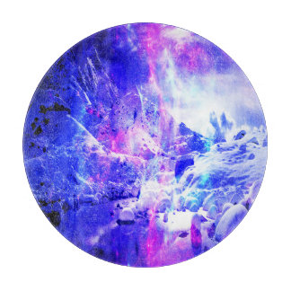 Amethyst Yule Night Dreams Cutting Board