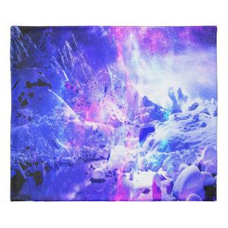 Amethyst Yule Night Dreams Duvet Cover