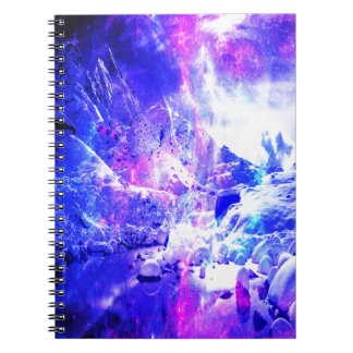 Amethyst Yule Night Dreams Notebooks