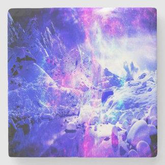 Amethyst Yule Night Dreams Stone Coaster