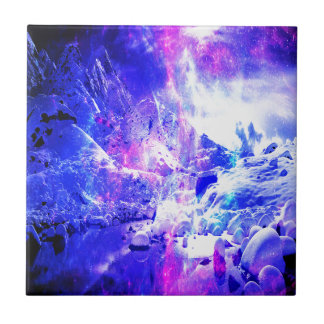 Amethyst Yule Night Dreams Tile