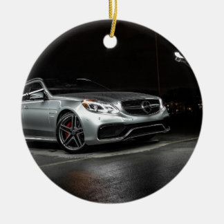 AMG Wagon Ceramic Ornament