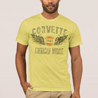 amgrfx - 1981 Corvette T-Shirt