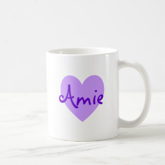 Amie in Purple Coffee Mug