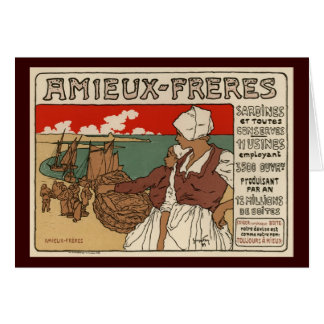 Amieux Freres Greeting Card