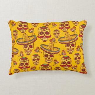 Amigo Skulls Accent Pillow