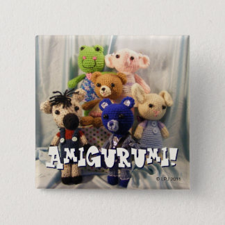 Amigurumi Friends Button