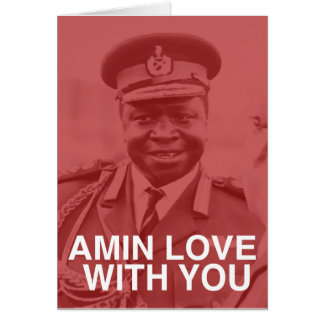 amin love with you card