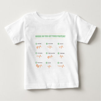 Amino Acids - Where do you get your protein? Baby T-Shirt