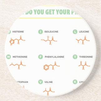 Amino Acids - Where do you get your protein? Coaster