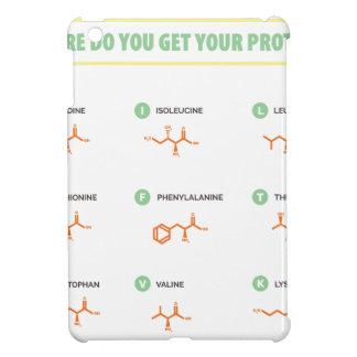 Amino Acids - Where do you get your protein? iPad Mini Case