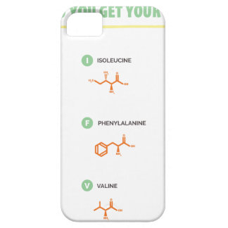 Amino Acids - Where do you get your protein? iPhone 5 Case