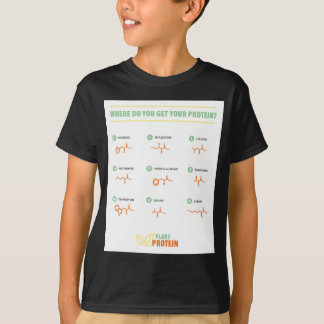 Amino Acids - Where do you get your protein? T-Shirt