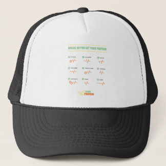 Amino Acids - Where do you get your protein? Trucker Hat