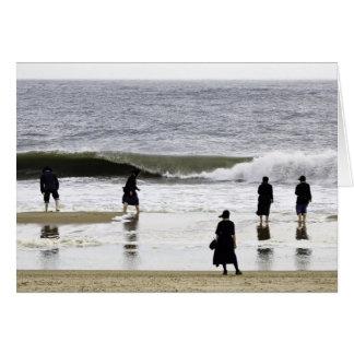Amish Beach Day Card