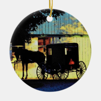 Amish Buggy Ornament