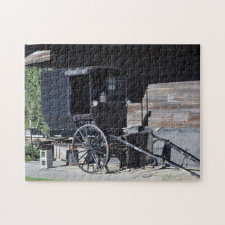 Amish Buggy Repair Jigsaw Puzzle