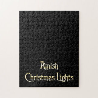 Amish Christmas Lights Jigsaw Puzzle